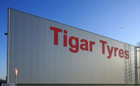 Tigar Tyres, New production hall and raw material warehouse